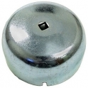Grease cap with drive hole