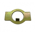 Axle front lock plates