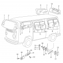 Kombi Windscreen